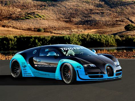 Flo Rida Has Given His Bugatti Veyron The Tron Treatment