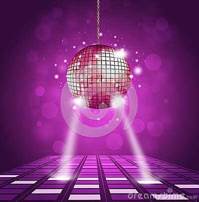 disco ball floor l disco time stock images image 29739134