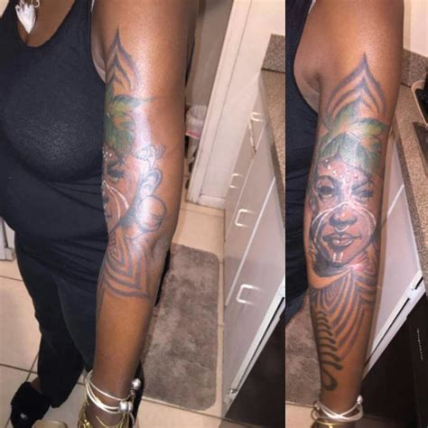 reasons  black women shouldnt  colorful tattoos
