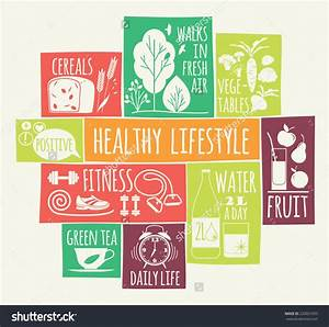 Healthy lifestyle Icons set | Clipart Panda - Free Clipart ...
