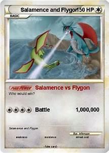 Pokémon Salamence and Flygon - Salamence vs Flygon - My ...