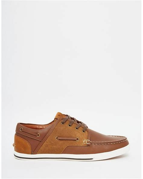 Boat Shoes Aldo by Aldo Greeney Boat Shoe In Brown For Lyst