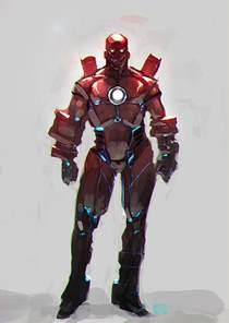Iron Man Cartoon Characters