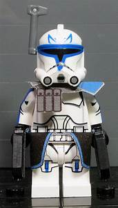 Clone Army Customs | P2 Captain Rex | Lego star wars ...