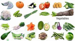 All Vegetables English Name & Images | Necessary ...