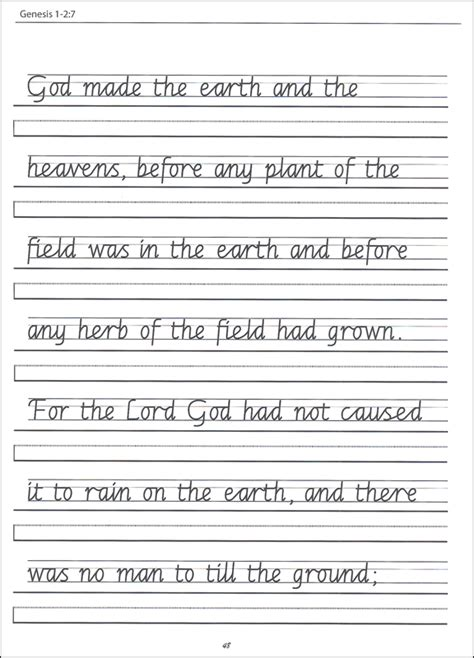 5th Grade Handwriting Worksheets Worksheets For All  Download And Share Worksheets  Free On