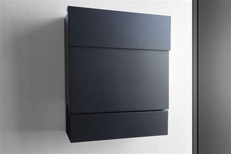Briefkasten Modern Design by Mail Box Letterman 5 Black Radius Design