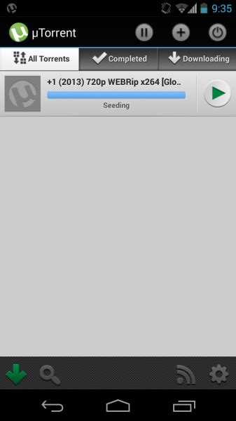 utorrent for android utorrent 1 18 apk for android now