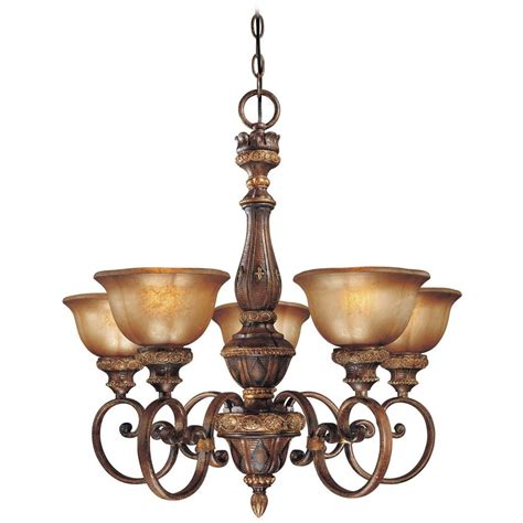 Brown Chandeliers by Chandelier With Brown Glass In Illuminati Bronze Finish