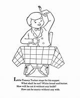 Coloring Goose Mother Nursery Rhymes Tommy Tucker Quiz Bluebonkers Sheets Printable Embroidery Templates Template Popular sketch template