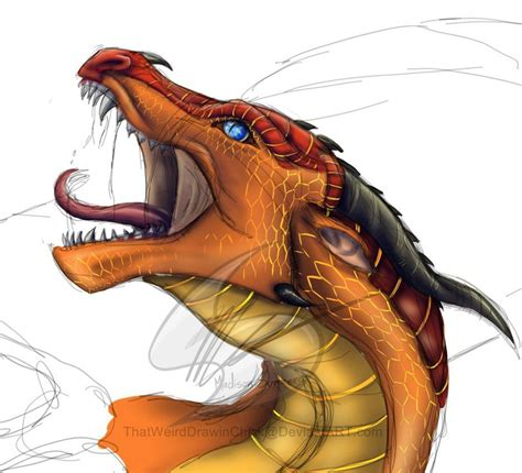 The wings aren't too difficult to draw and once you've mastered the style suggested here, you can work on. I wanna see it finished | Wings of fire dragons, Wings of ...