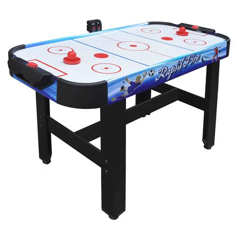 air hockey table game rapid fire 42 in 3 in 1 air hockey multi game table pool
