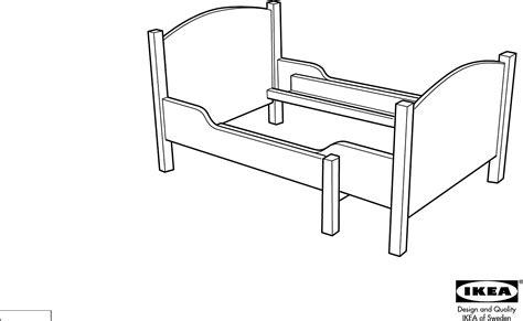 Ikea Bed Gebruiksaanwijzing by Handleiding Ikea Ateles Meegroeibed Pagina 1 4
