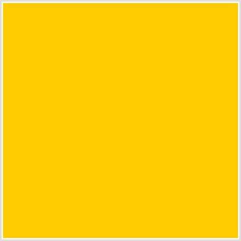 #ffcc00 Hex Color  Rgb 255, 204, 0  Orange Yellow