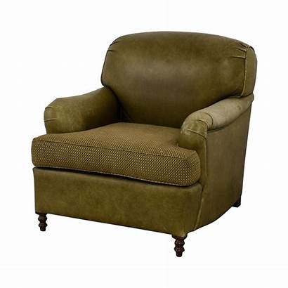 Chair Leather Tan Arm Upholstered Chairs Accent