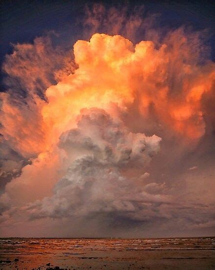 stormy sunset clouds  moreton bay   sunset