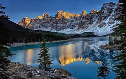 Banff National Park Wallpapers Canada Lake Herbert