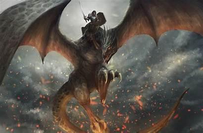 Dragon Knight Wallpapers 4k Digital Artist Backgrounds