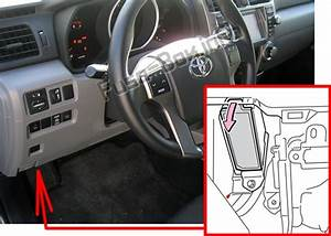 Fuse Box Diagram  U0026gt  Toyota 4runner  N280  2010