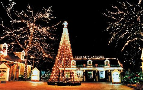 rock city at christmas home for the holidays pinterest