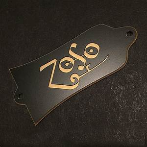 Guitar Truss Rod Cover - Engraved Fits Gibson Usa