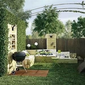 Amenagement Petite Terrasse Exterieur : 247 best images about jardin on pinterest coins terrace and shade screen ~ Melissatoandfro.com Idées de Décoration