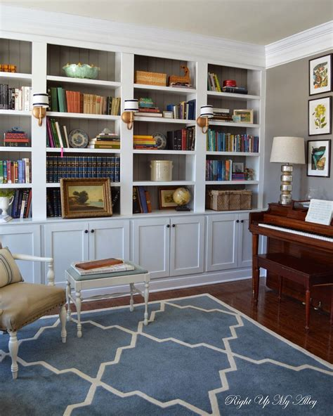 Built In Bookshelves by Right Up My Alley D I Y Built In Bookshelves Diy In