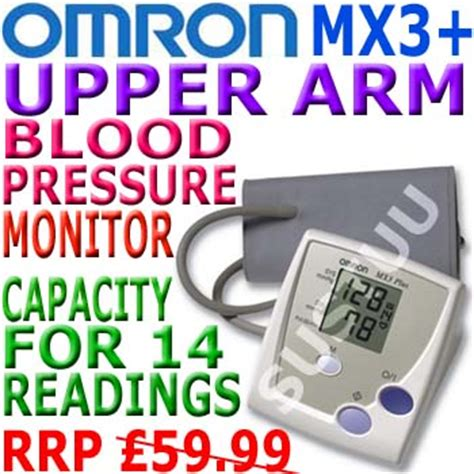 Omron Mx3 Upperarm Digital Blood Pressure Bp Monitor Sustuu