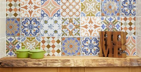 tiles cottage kitchen country industrial tile kitchens