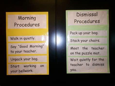 Classroom Procedures   Classroom procedures, Classroom ...