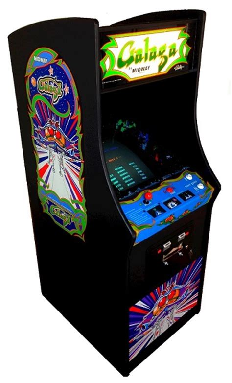Galaga Arcade Machine by Arcade Specialties Galaga Arcade For Sale