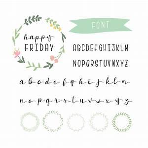 Colección de alfabeto bonita Descargar Vectores gratis