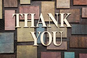 thank you stock photo image 39380279 With thank you wooden letters