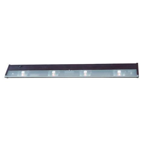 under cabinet lighting acclaim lighting 4 light 32 in bronze xenon under cabinet