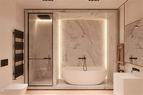 Modern Bathroom Designs For Couples by Harmonious Modern Interior For A By Zooi