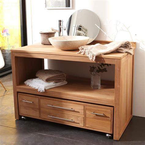 cuisine meuble salle de bain teck mobilier promo meuble salle de bain bois promo meuble salle