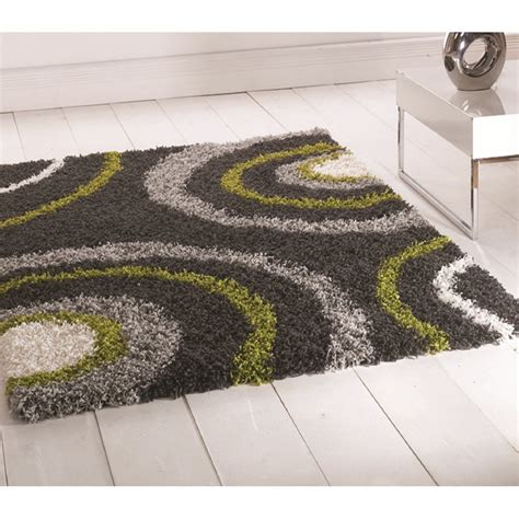 Lime Green And Black Rug by Lime Green Grey Nordic Equator Rug Carpet Runners Uk