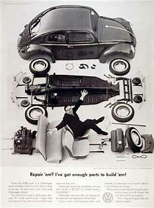 1960 Vw Beetle Parts Vintage Ad