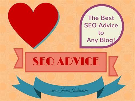 seo advice the best seo advice to any i news india