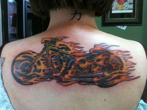 Latest And Most Demanding Motorcycle Tattoos