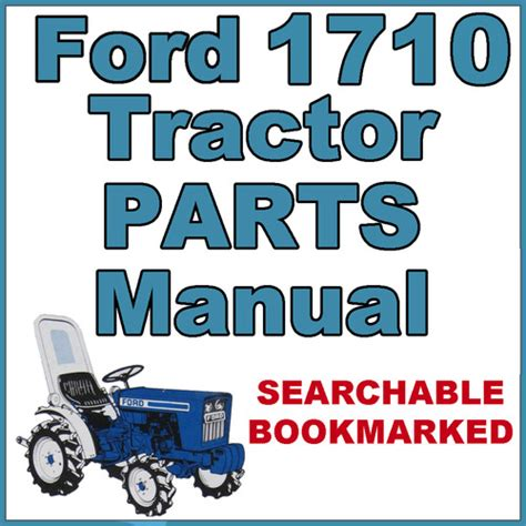 ford  compact tractor illustrated parts list manual