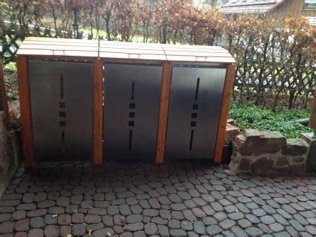 mülltonnenbox mit pflanzdach selber bauen bau einer m 252 lltonnenbox bauanleitung zum selber bauen zuk 252 nftige projekte storage bins