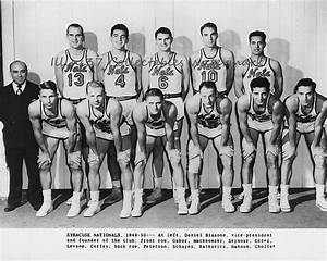 1949-50 SYRACUSE NATIONALS NBA BASKETBALL 8X10 TEAM PHOTO ...