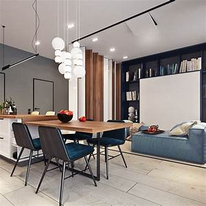 Beautiful Studio Apartment Designs Combined With Modern