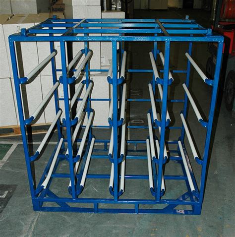 ensure 24 pack stillages and water bottle racks for storage the water