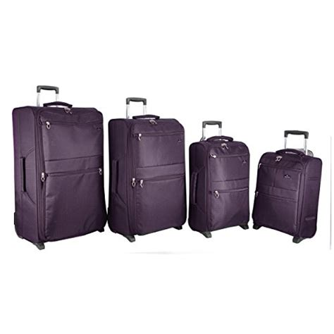 wheeled garment bag uk aerolite lightweight suitcase luggage sets in 2 3 4 5
