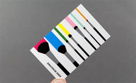 artist business card examples mow design