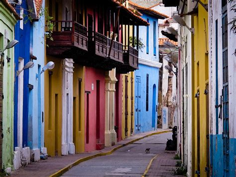 Colorful Colonial by Colorful Colonial Streets Of La Guaira It