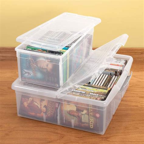 Stackable Cd Storage Boxes Listitdallas