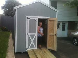 839 x 10 storage shed with ramp delivered to kemptville on With delivered barns and sheds